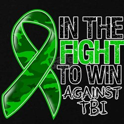 In The Fight TBI T-Shirt