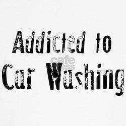 Addicted to Car Washing Tee