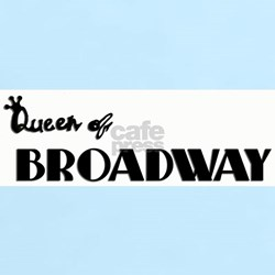 Queen of Broadway Women's Pink T-Shirt