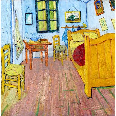 the bedroom at arles