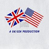 American and english baby Bib