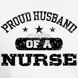Proud Husband of a Nurse Shirt