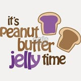 It's Peanut Butter Jelly Time Shot Glass