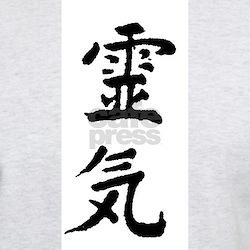 Reiki symbol Ash Grey T-Shirt