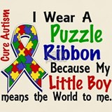 Autism little son T-shirts