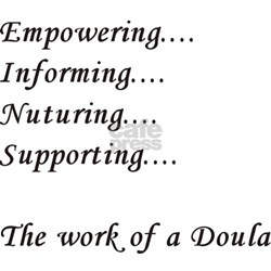 Doula Tee (pink)