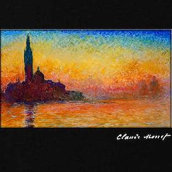 San Giorgio Maggiore, Monet, T-Shirt