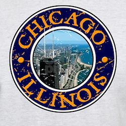 Chicago, IL - Design 1 T-Shirt
