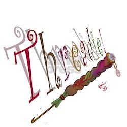 Threadie! Women's Pink T-Shirt