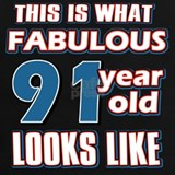 91 years T-shirts