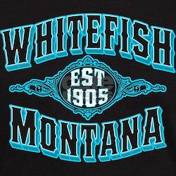 Whitefish 1905 Black Ice T-Shirt