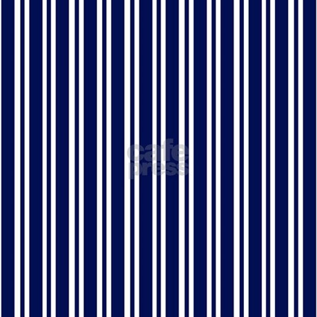 navy blue white stripes shower curtain by printedlittletreasures