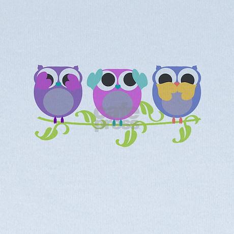 See Hear Speak No Evil Owls Baby Hat By Optdesignsliltots