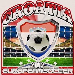 Croatia European Soccer 2012 Tee