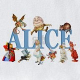 Alice in wonderland Bib