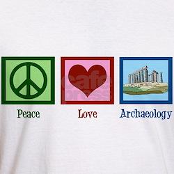 Peace Love Archaeology Shirt