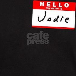 Jodie, Name Tag Sticker T-Shirt