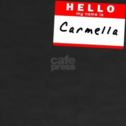 Carmella, Name Tag Sticker Shirt