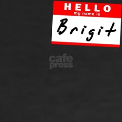 Brigit, Name Tag Sticker Shirt