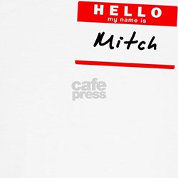 Mitch, Name Tag Sticker T-Shirt