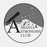 Shasta Astronomy Club Logo Shot Glass
