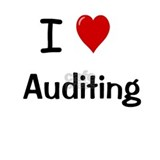 Auditor Gift - I Love Auditing Mug