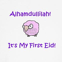 Muslim Baby Girl First Eid Tee-Shirt
