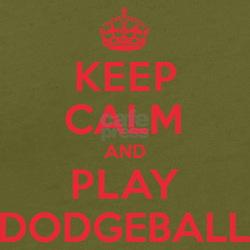 Keep Calm Play Dodgeball T-Shirt