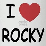 I heart Rocky Drinking Glass