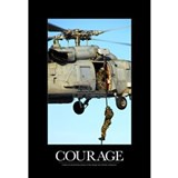 Military motivational Wrapped Canvas Art