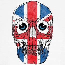 Unionjack Skull T