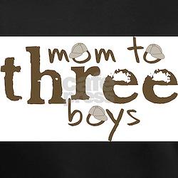 Cute Mom to three boys Shirt