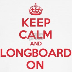 Keep Calm Longboard Shirt