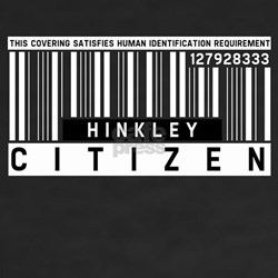 Hinkley Citizen Barcode, Shirt
