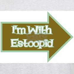 Estoopid Ash Grey T-Shirt