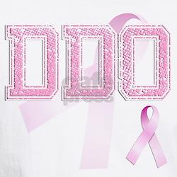 DDO initials, Pink Ribbon, Shirt