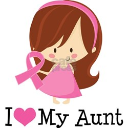 Aunt Breast Cancer Support Shirt