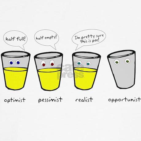 Optimist Pessimist Realist Opportunist Shirt By HeyThatsPunny2
