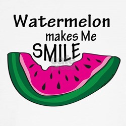 Watermelon Makes Me Smile T-Shirt