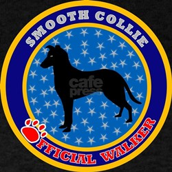 Smooth Collie Black T-Shirt