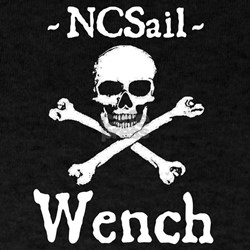Black NCSail Wench T-Shirt