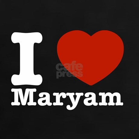 I Love Maryam Tee By Madmenteez