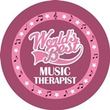 Music Therapist (World's Best) Water Bottle