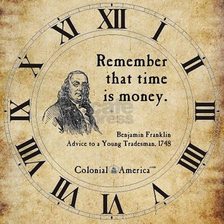 essays on time is money