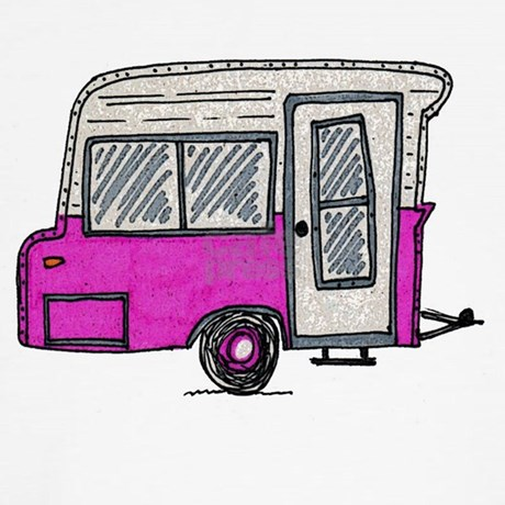 airstream gifts airstream more fun stuff pinky vintage camper trailer ...