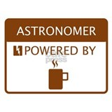 Astronomer Powered by Coffee Water Bottle