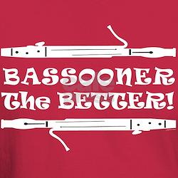 Bassooner the Better (h) T-Shirt