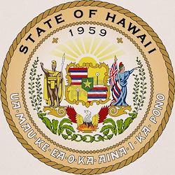 Hawaii State Seal Tee