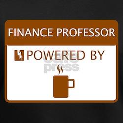Finance Professor Powered by Coffee Shirt