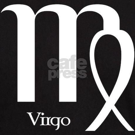 virgo symbol black t shirt by symbolsonstuff